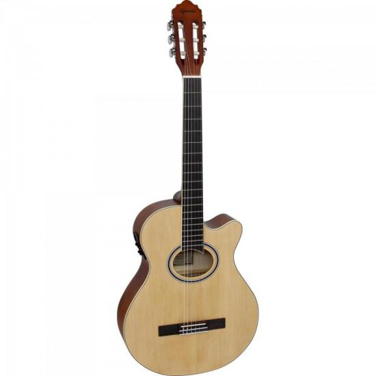 Violão Mini-Jumbo Cutaway Nylon GNF-1D Natural GIANNINI