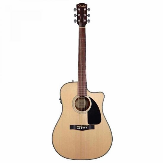 Violão Dreadnought/Cutaway Aço CD100 Natural FENDER