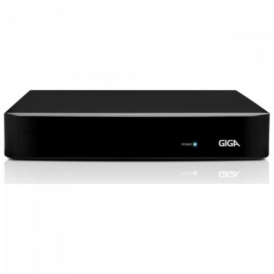 DVR HVR Open (5 em 1) 16 Canais 4MP GS16OPEN4MI2 Preto GIGA