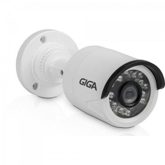Camera Bullet 3,6mm Infra 20m 1080P Open FULL HD (4 em 1) Sony Exmor GS0027 Branco GIGA