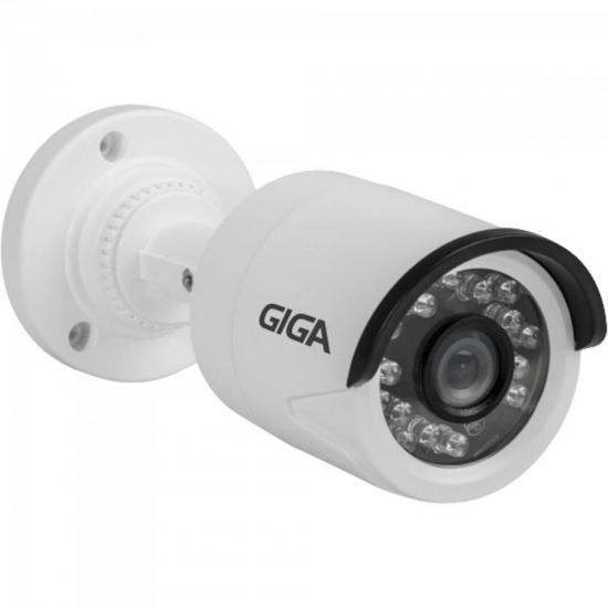 Câmera Bullet 720p OpenHD PLUS (4 em 1) Infra 20m GS0013 Branco GIGA
