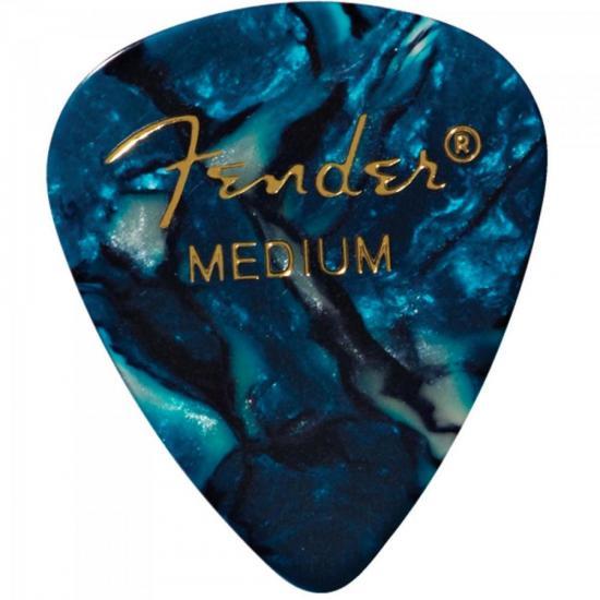 Palheta Celulóide Shape Premium 351 Medium Ocean Turquoise FENDER