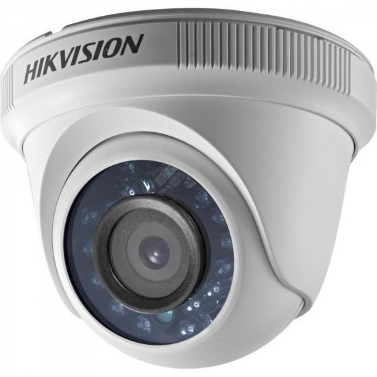 Camera Dome HDTVI 2,8mm 10M 2MP 720P Plastico DS-2CE5AD0T-IRP HIKVISION