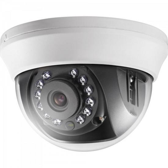 Camera Dome HD-TVI-IR 20M 3,66mm DS-2CE56C0T-IRMMF Branca HIKVISION