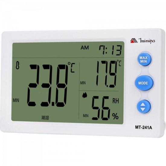 Relogio Termo Higrometro MT241A MINIPA (66741)