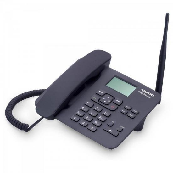 Telefone Celular Fixo CA42-S Preto AQUARIO (66883)