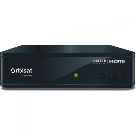 Receptor Digital Satmax-S OTRS14 Preto ORBISAT