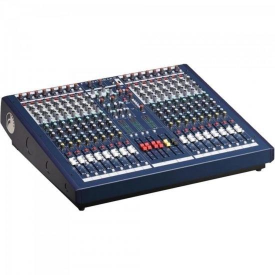 Mesa de Som 16 Canais Signature LX10 Azul SOUNDCRAFT