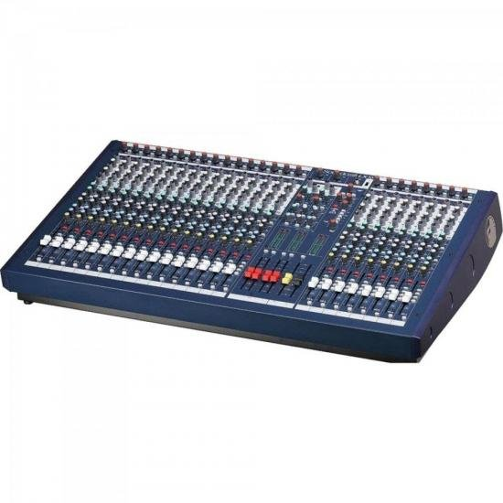 Mixer 24 Canais LX10 Azul SOUNDCRAFT