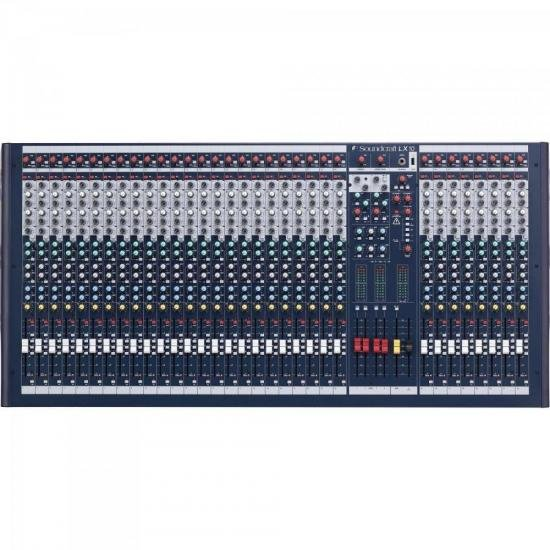 Mixer 32 Canais LX10 Azul SOUNDCRAFT