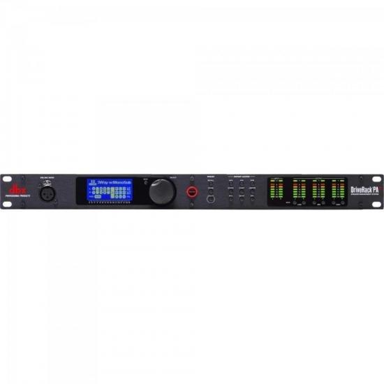 Processador Drive Rack PA2 220V Preto DBX (67085)