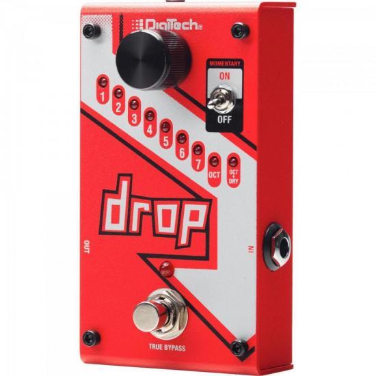 Pedal para Guitarra The Drop Vermelho DIGITECH