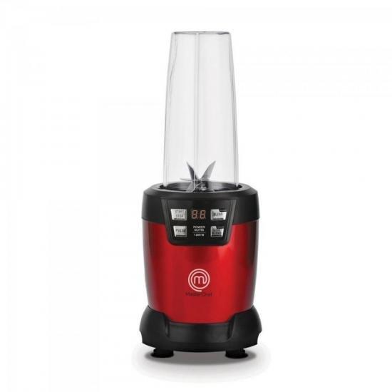Mini Liquidificador Premium Power Nutri 1200W 127V ML3001V Vermelho MASTER CHEF