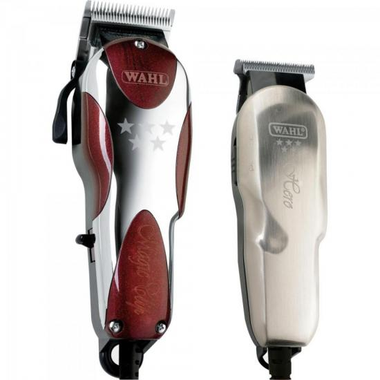 Kit Máquina de Corte Magic Clip + Hero 127V WAHL (67296)