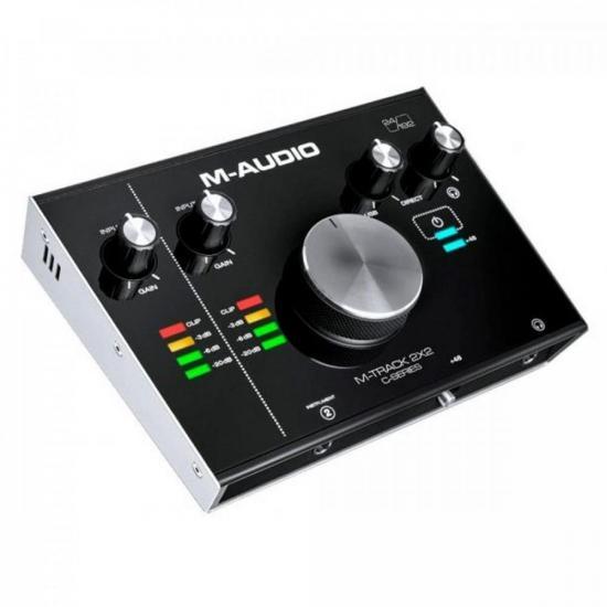 Interface de Áudio 2x2 M-Track M-Audio