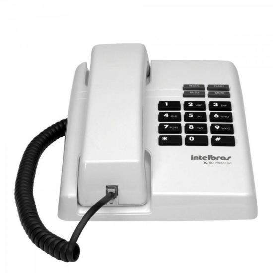 Telefone Premium TC50 PPB Branco INTELBRAS