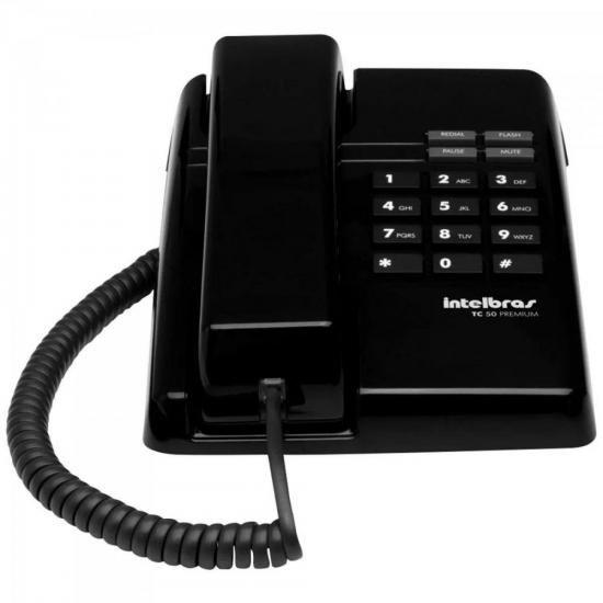 Telefone Premium PPB TC50 Preto INTELBRAS