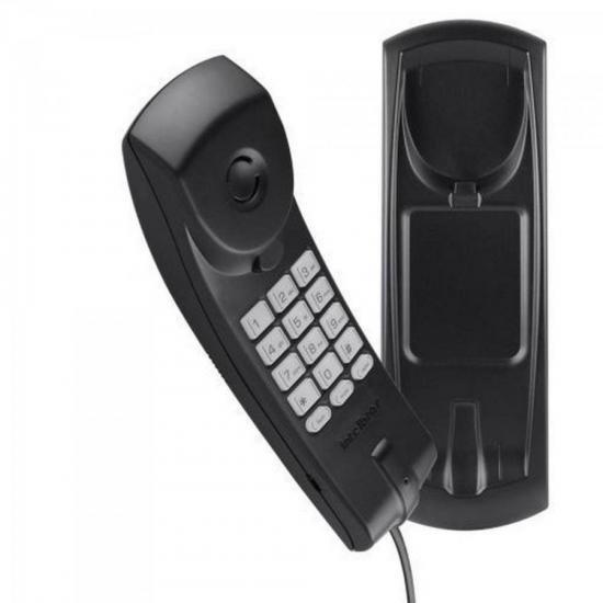 Telefone Gondola TC20 PPB Preto INTELBRAS