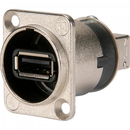 Conector de Painel USB 2.0 USB-W NEUTRIK