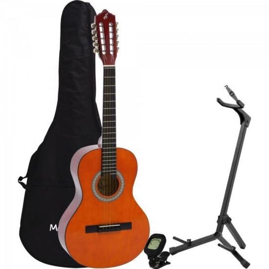 Kit Viola Acústica VS14 Natural GIANNINI + Acessórios (67453)