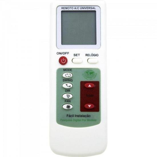 Controle Remoto para Ar Condicionado Inteligente One Touch 01310 (67525)