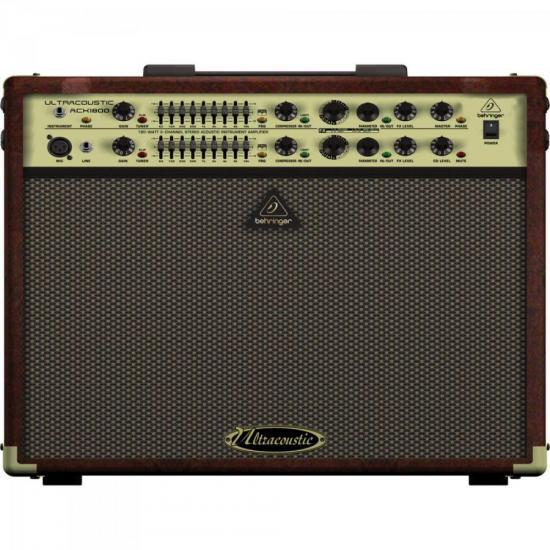 Cubo Amplificador para Violão 110V ACX1800 BEHRINGER (67674)