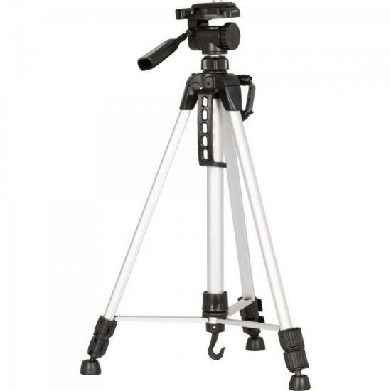 Tripé para Câmera KT-2013 Prata NEST