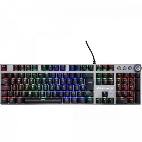Teclado Gamer Mecânico GPRO K7 RGB PLUS FORTREK (67703)