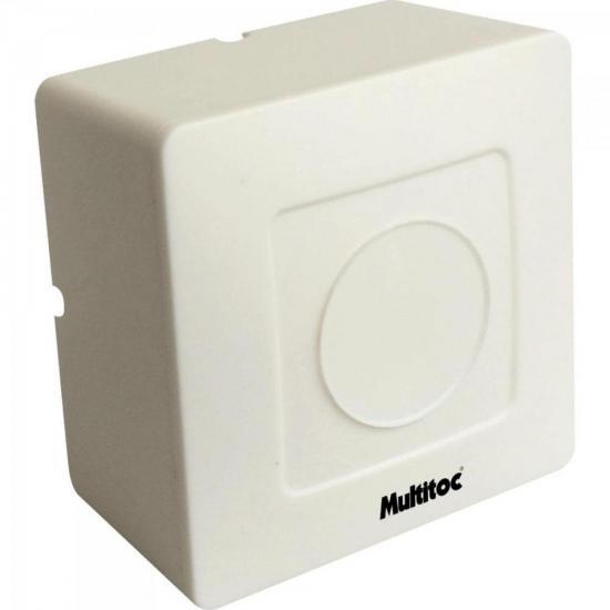 Caixa Sobrepor Quadrada para CFTV Plástica Branca MULTITOC (67707)
