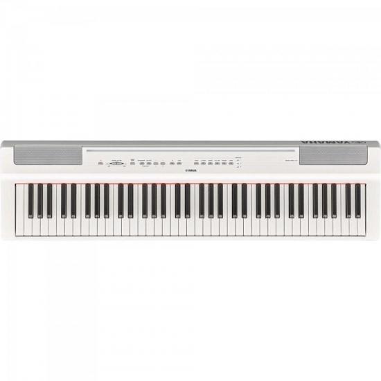 Piano Digital YAMAHA P121WH Branco