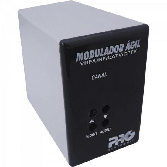 Modulador Ágil UHF/CATV/CFTV PQMO-2600G2 PROELETRONIC (67830)