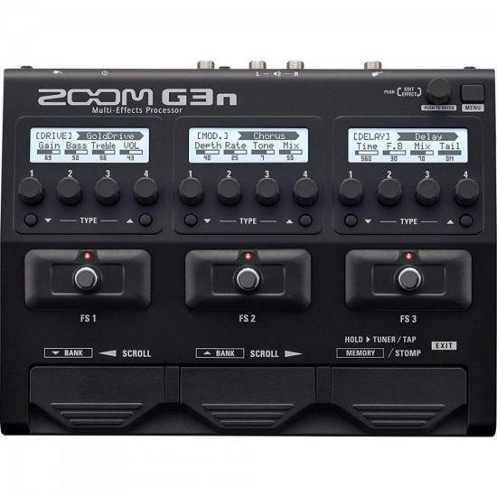 Pedaleira Para Guitarra G3N ZOOM