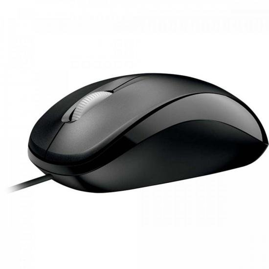 Mouse Compact USB U8100010 Preto MICROSOFT (68396)