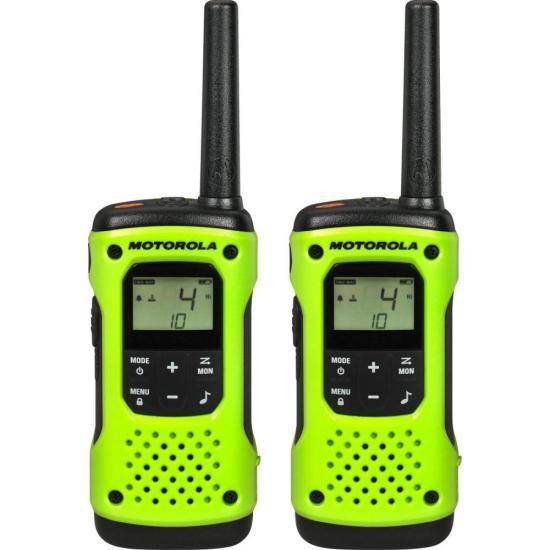 Radio Comunicador Talkabout 35km T600BR Verde MOTOROLA (68559)