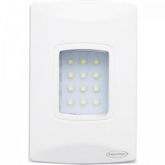 Iluminação de emergência autônoma de embutir LED 100 Lúmens SEGURIMAX