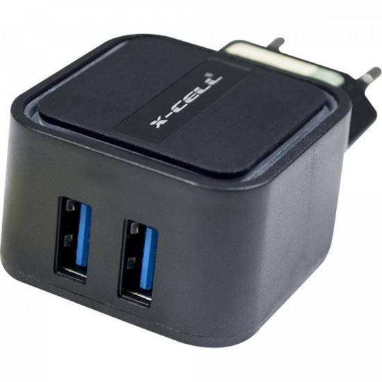 Carregador Ultra 2 USB 3.4 XC-UR10 X-CELL FLEX