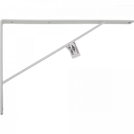 Suporte Reforçado para Prateleira 37x2cm BRASFORT (68713)
