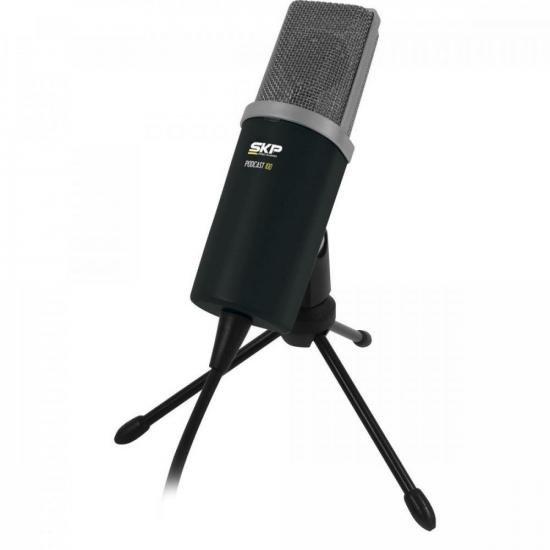 Microfone Cardioide Podcast 100 SKP (68744)