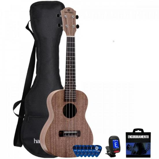 Kit Ukulele Concert UK-20 Natural HARMONICS (68848)