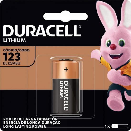 Bateria de Litio 3V CR123 DURACELL (69107)