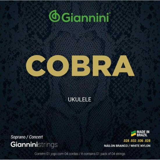 Encordoamento para Ukulele Nylon Concert GIANNINI