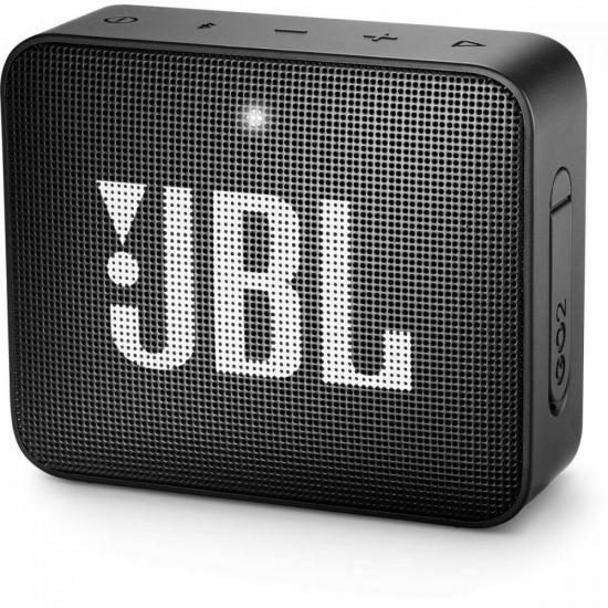 Caixa Multimídia Portátil Bluetooth GO 2 Preta JBL (69832)