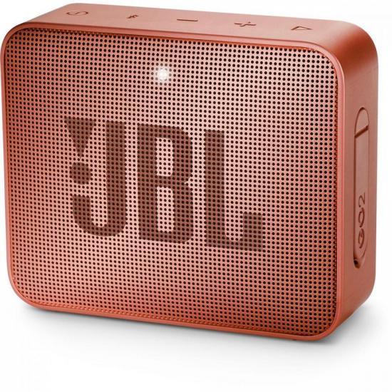 Caixa Multimídia Portátil Bluetooth GO 2 Canela JBL (69834)