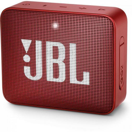 Caixa Multimídia Portátil Bluetooth GO 2 Vermelha JBL (69835)