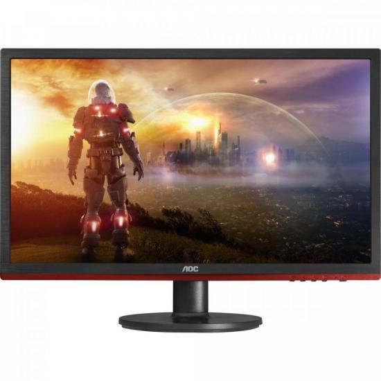 """Monitor 21,5"""" LED Full HD Widescreen 75Hz Preto AOC (69924)"""