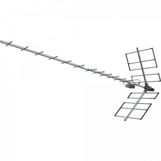 Antena Digital UHF YAGI 18 PROHD1118 PROELETRONIC (70091)