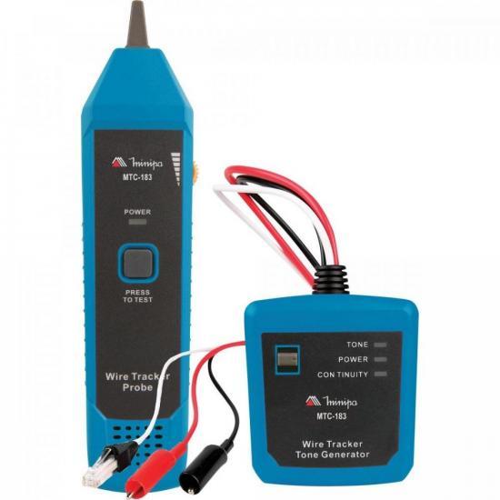 Identificador de Cabos (zumbidor) MTC-183 MINIPA (70138)