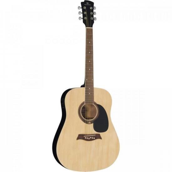 Violao Eletroacústico Folk Aço VM918DT Natural Satin MICHAEL (70151)