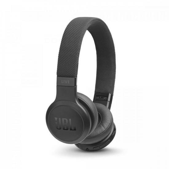 Fone de Ouvido Bluetooth Live 400 Preto JBL (70172)