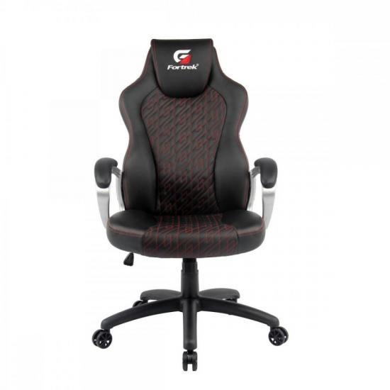 Cadeira Gamer Blackfire Preta/Vermelha FORTREK